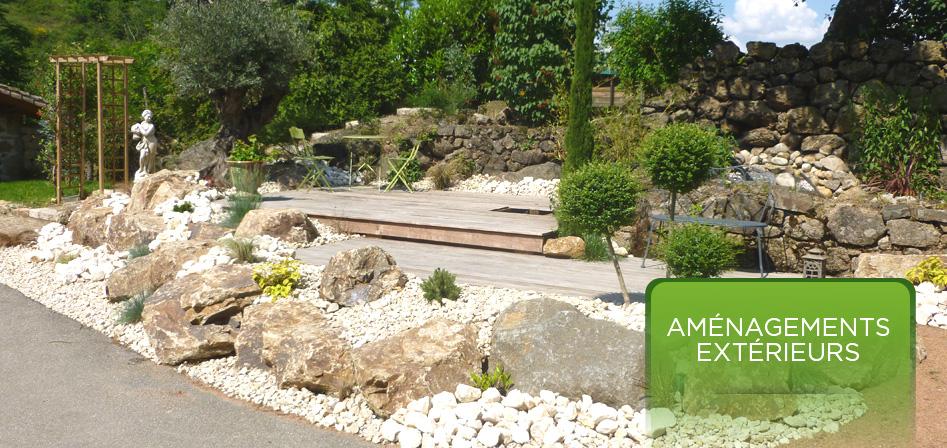 Pilat espaces verts paysagiste p lussin chavanay lyon for Conception jardin lyon